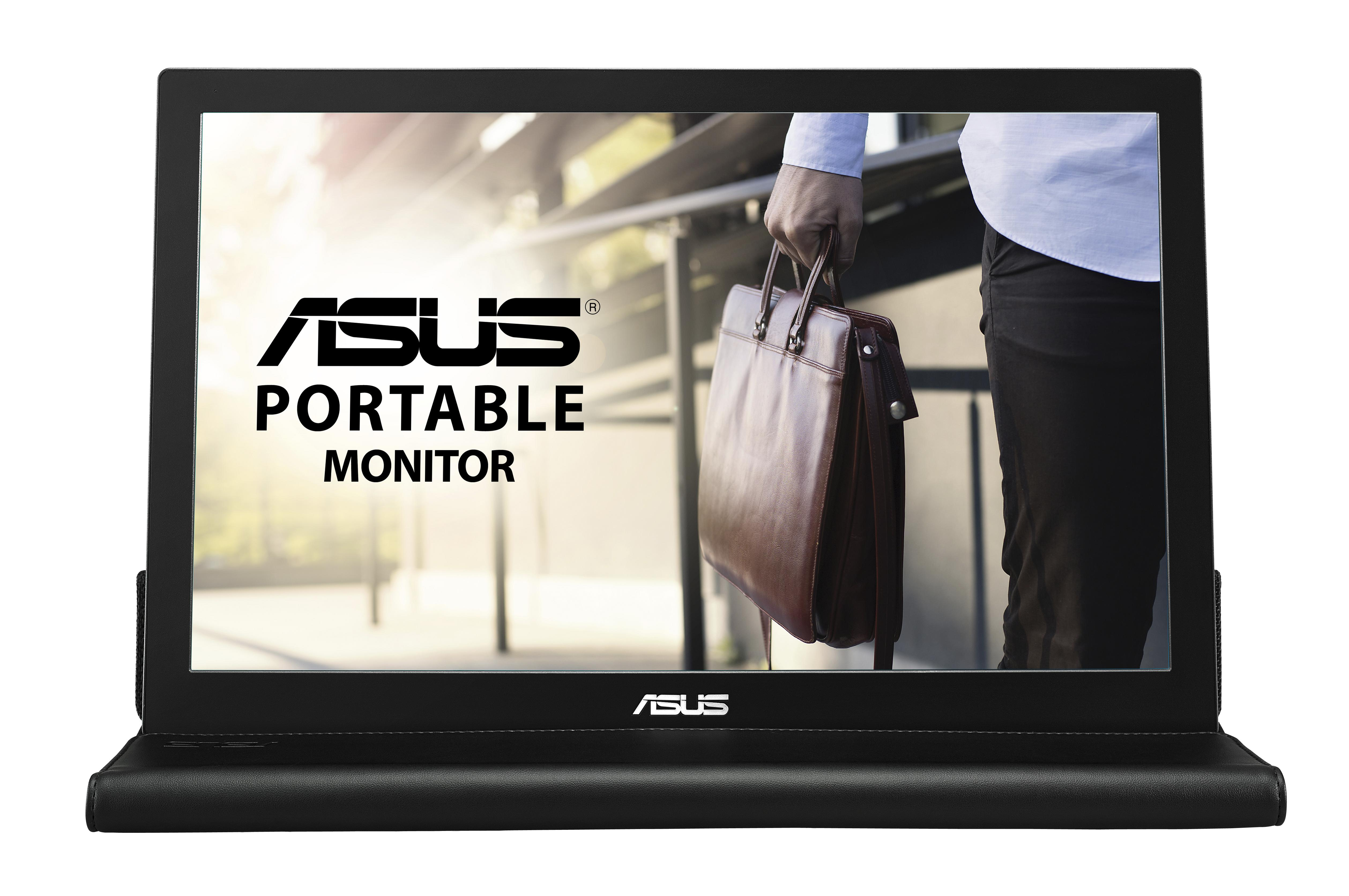 Asus MB169B+ 15.6 LED LCD Monitor - 16:9 - 14 ms - 1920 x 10