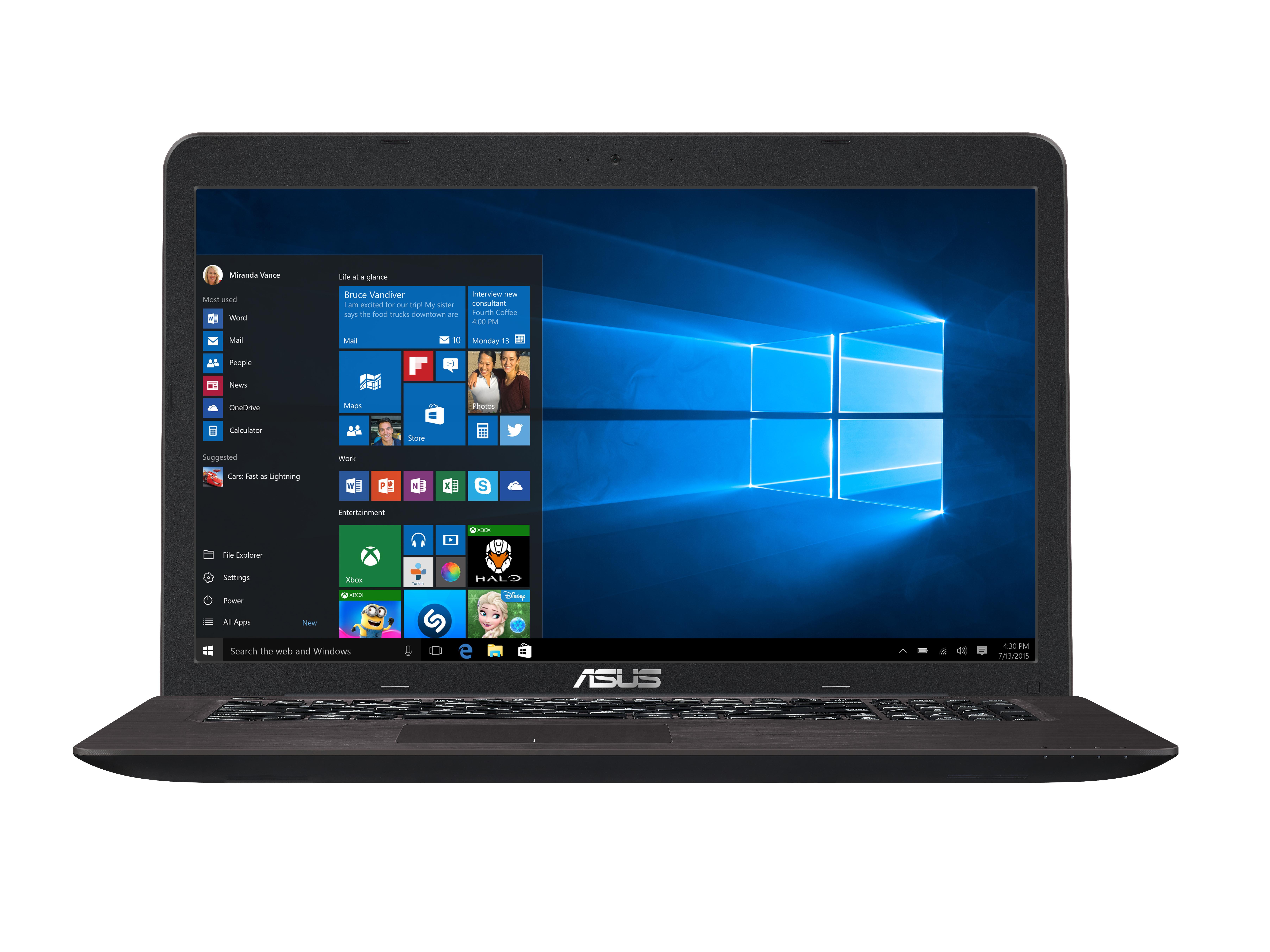 PC portable ASUS K756