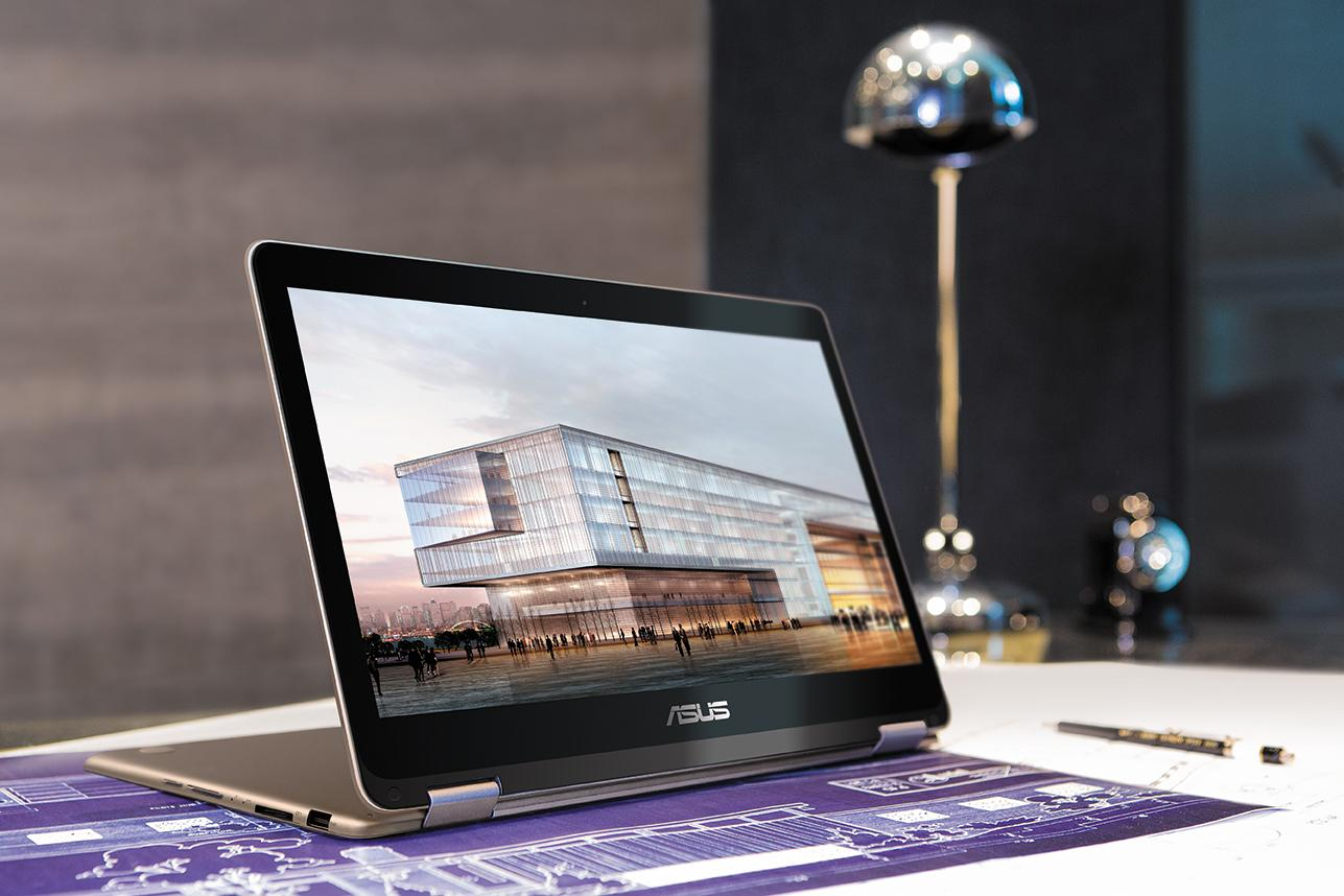 Asus Zenbook Flip in action