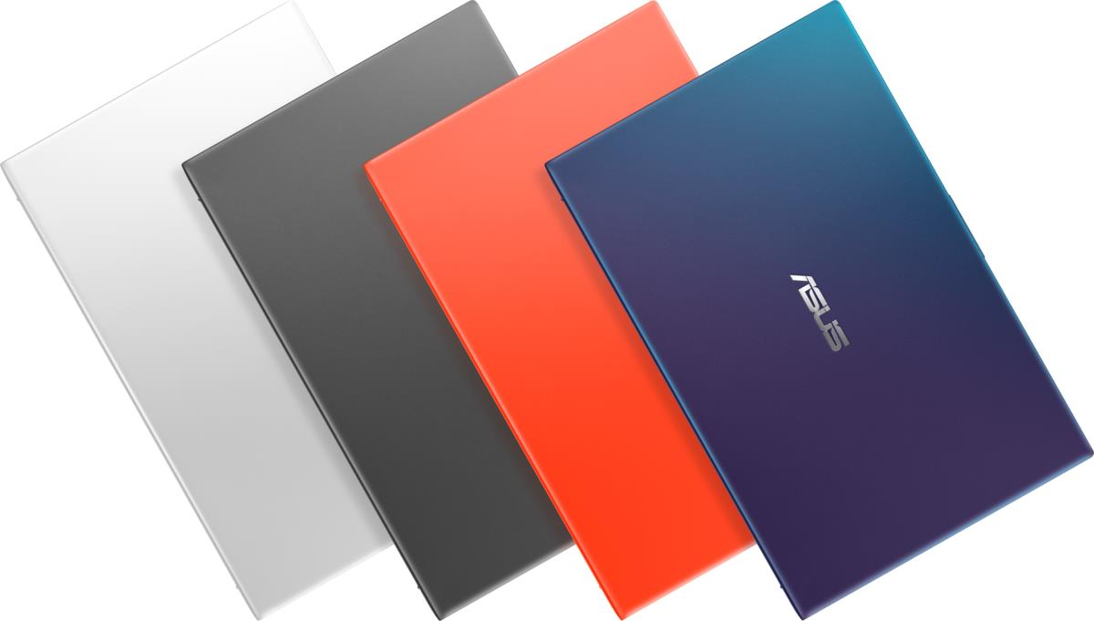 VivoBook Ultra A412DA memiliki warna yang beragam dan cantik, dari putih, hitam, merah, dan biru.